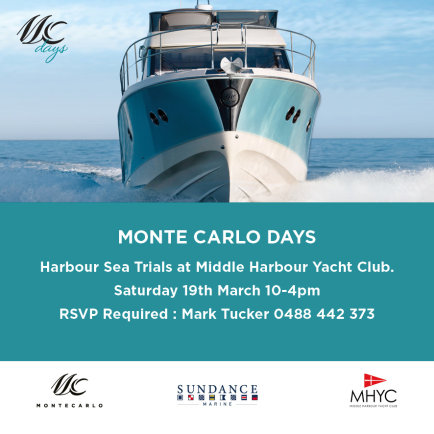 Monte Carlo Days on Sydney Harbour
