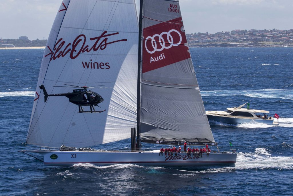 "Wild Oats XI crew is almost ""over the moon"""