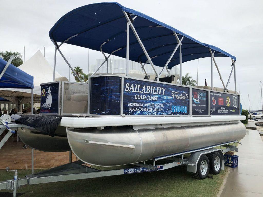 Sailability provides boating FREEDOM