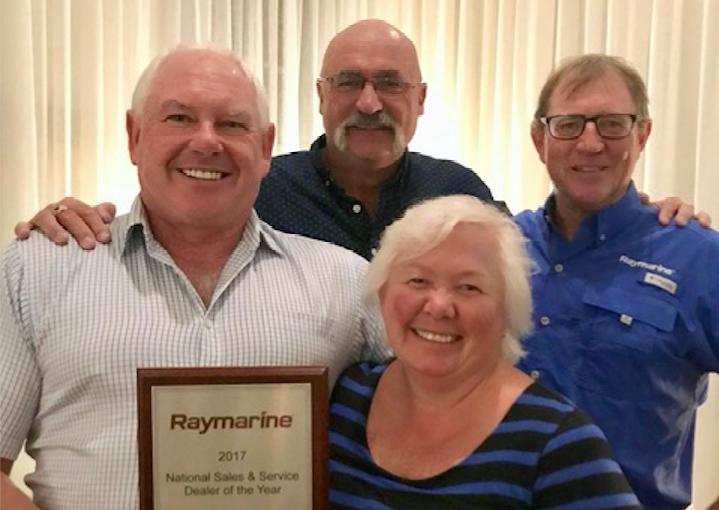 AMW wins Raymarine Dealer of the Year
