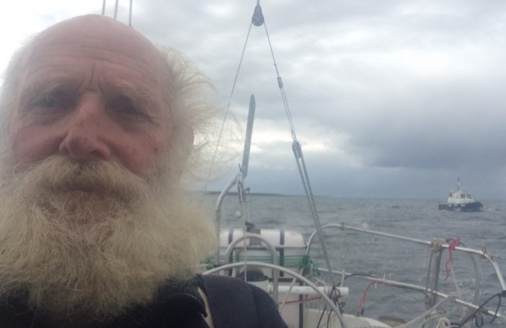 Oldest solo sailor to circumnavigate World arrives at SYC