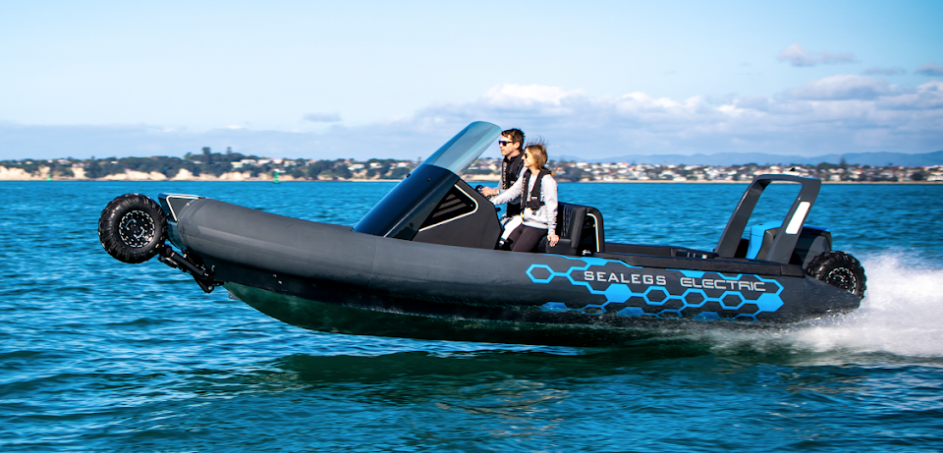 Sealegs releases new electric amphibious craft