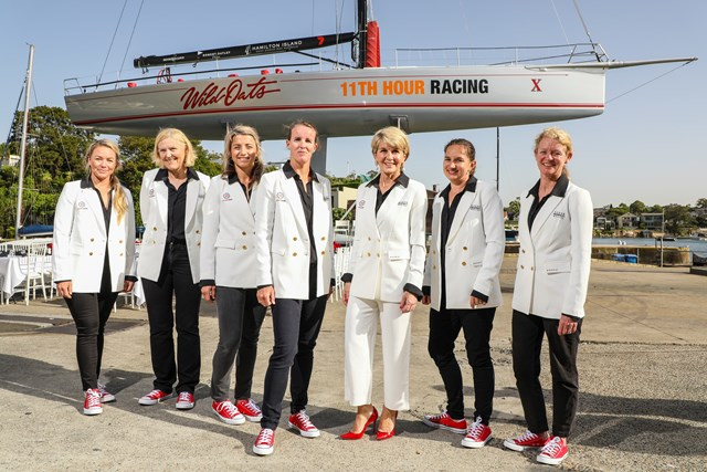 First professional all female crew for Sydney Hobart