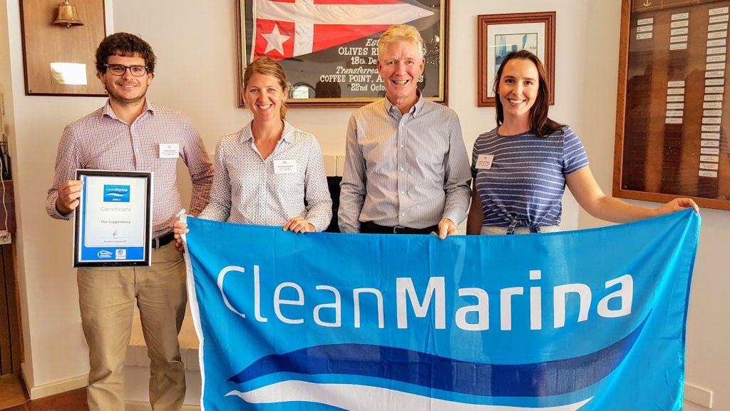 West Coast Marina gains environmental accreditation