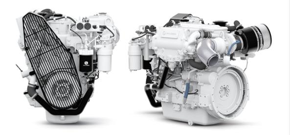 New John Deere 4.5L marine engine