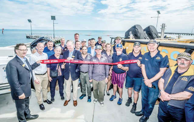 Rye Boat Ramp officially launched