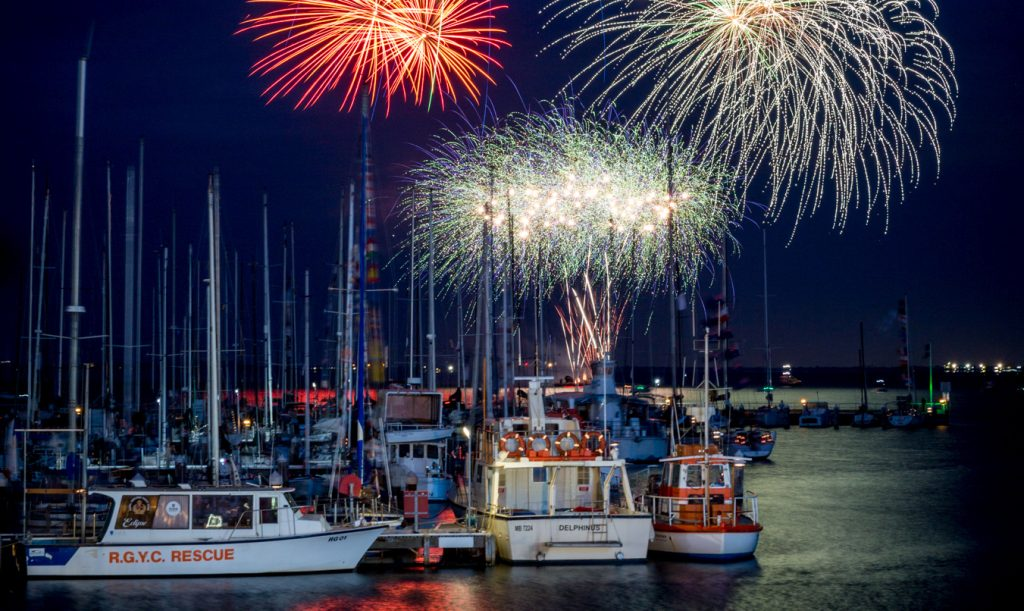 Thousands celebrateAustralia Day and Festival of Sails