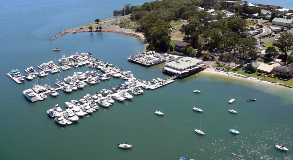 Soldiers Point Marina amongst best in world