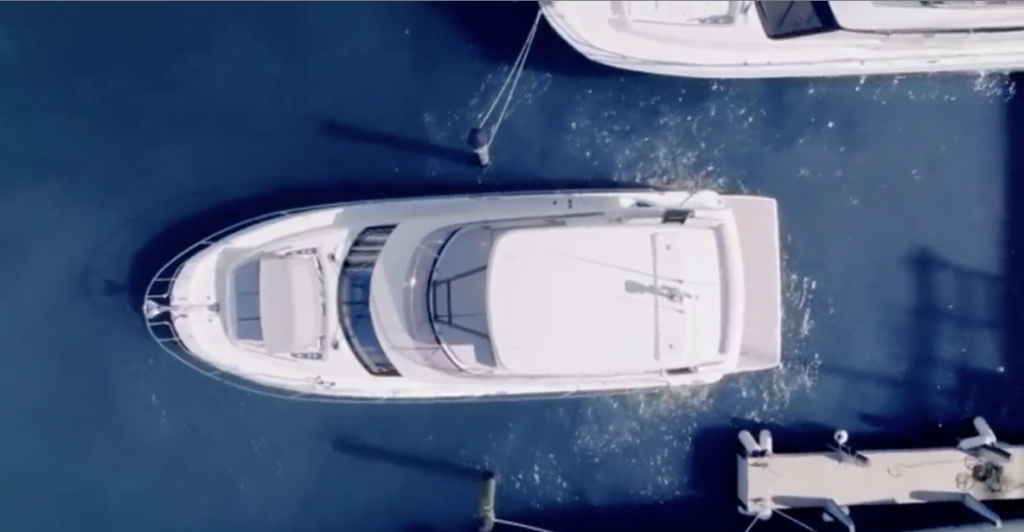 Prestige integrates Raymarine Docksense technology
