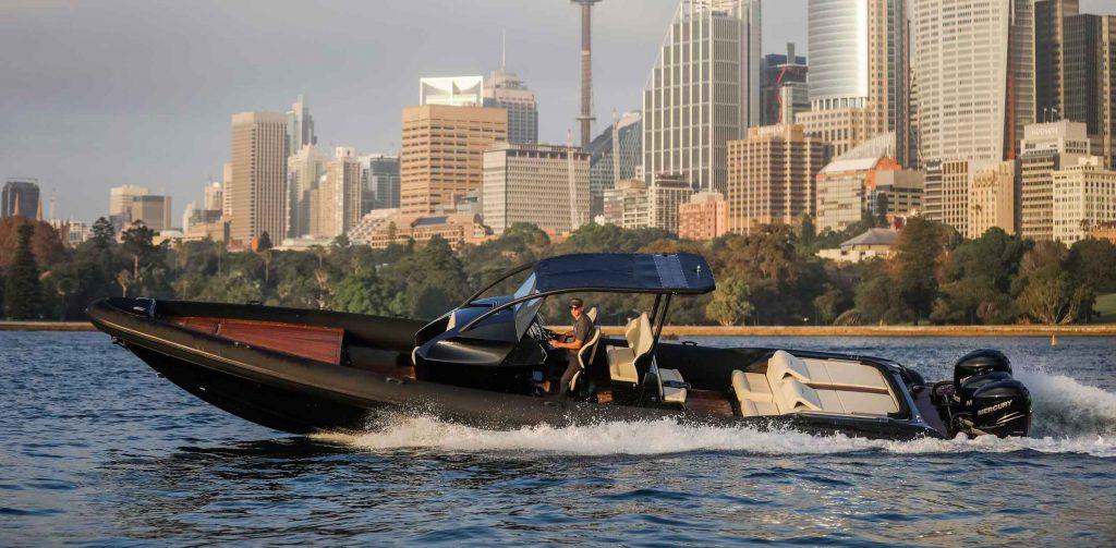 Ribco powers Australian SailGP as official chase boat