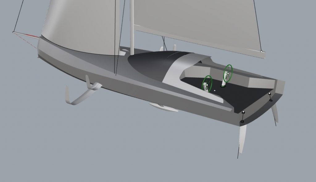New foiler design with Sydney Hobart yacht race in mind
