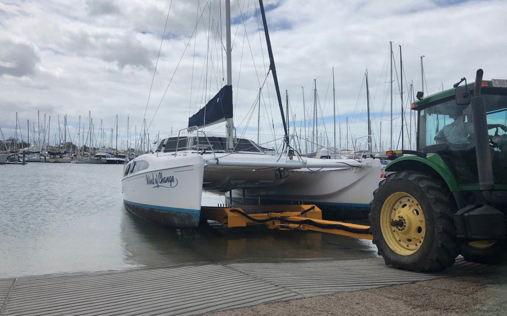 Multihull hardstand display announced for Moreton Bay