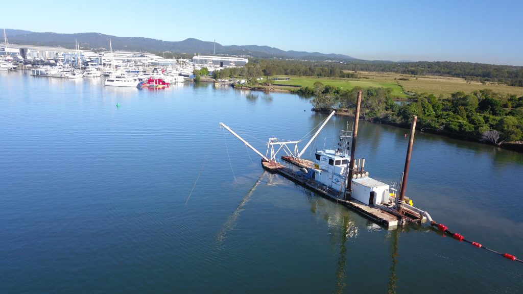 Coomera River project backs major marine industry