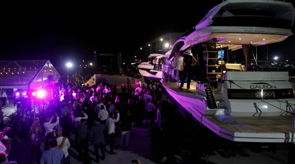Galeon Yachts launched in glittering style