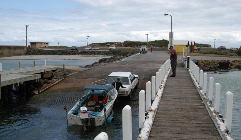Victoria's worst boat ramp gets an upgrade