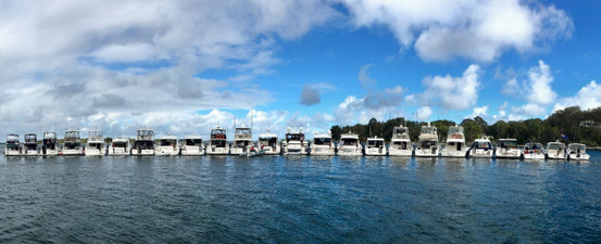 Port Phillip to Gippsland Lakes - Riviera cruise in company