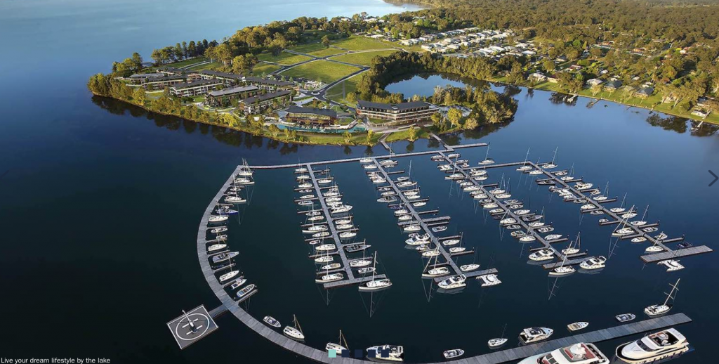 Trinity Point delivers on world class marina