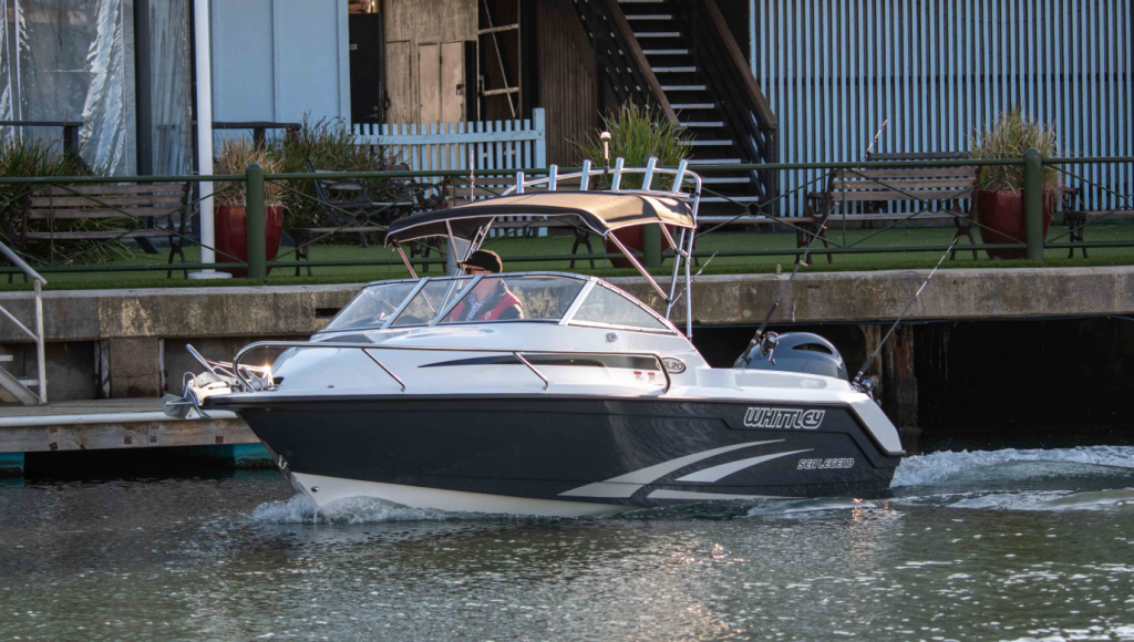 New look Whittley set for boat show launch