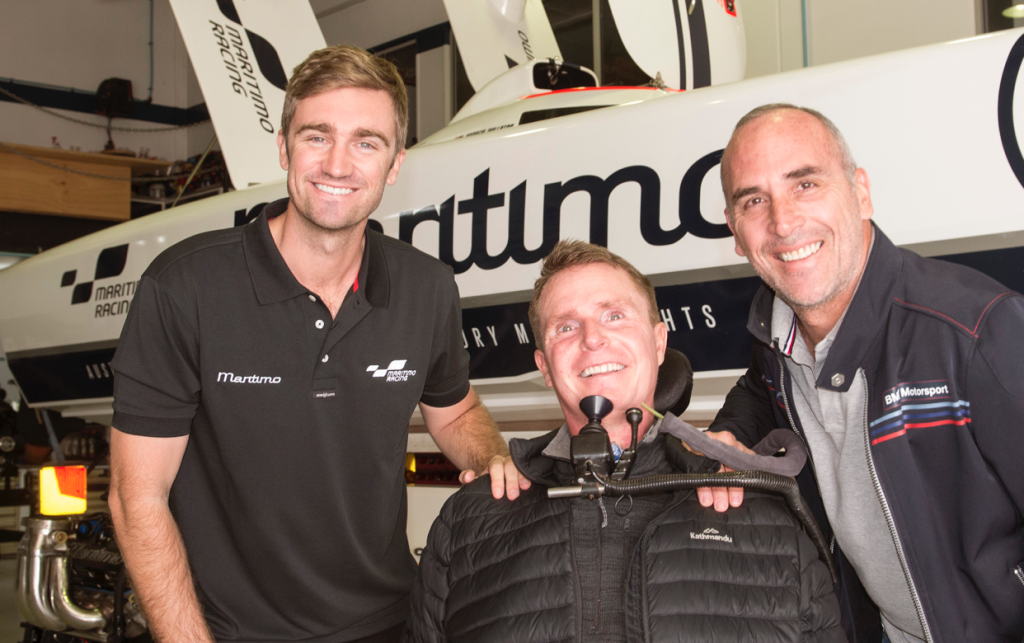Maritimo supports spinal injury research