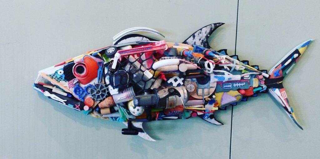 Trash to treasure – Marine debris to art