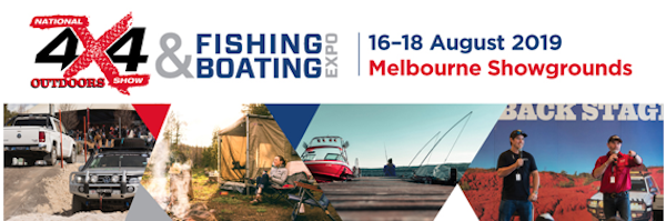 National 4×4 Outdoors Show & Fishing Expo set to go
