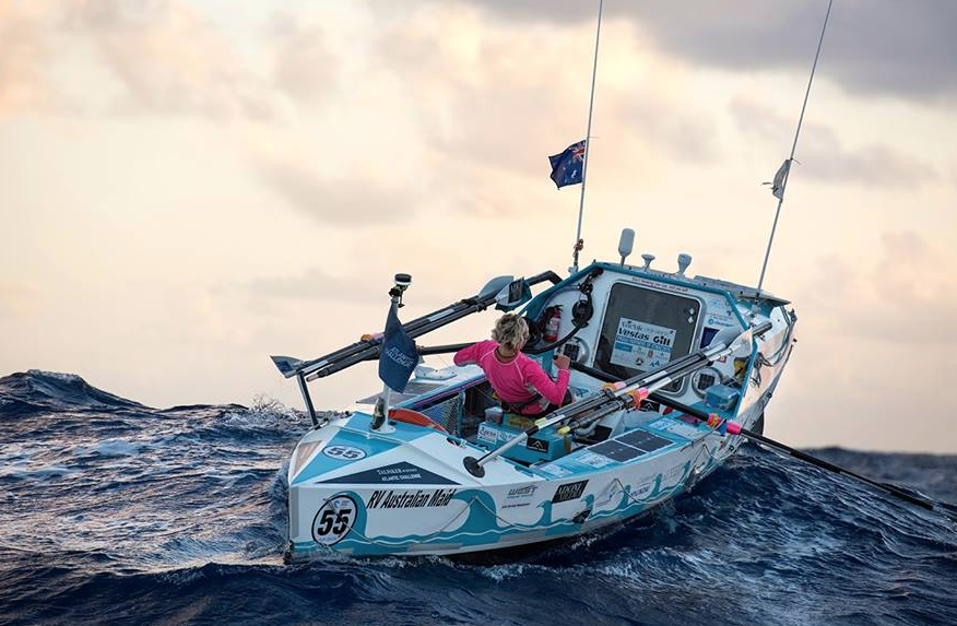 Only Aussie woman to row solo across Atlantic at Brisbane show