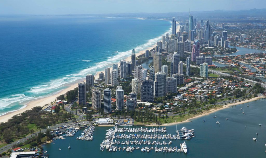 Free berthing for Sail Paradise on the Gold Coast