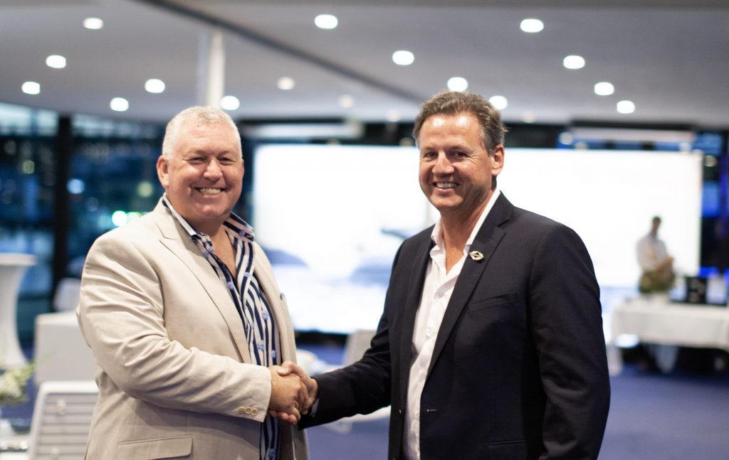 GCCM welcomes Sunseeker to iconic shipyard facility