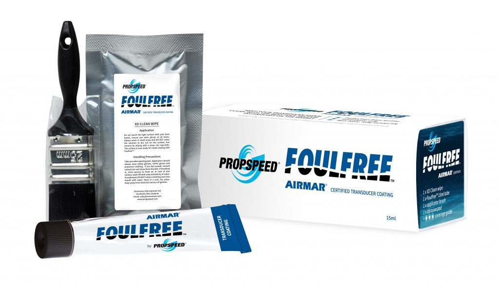 Foulfree coating for transducers introduced by Propspeed