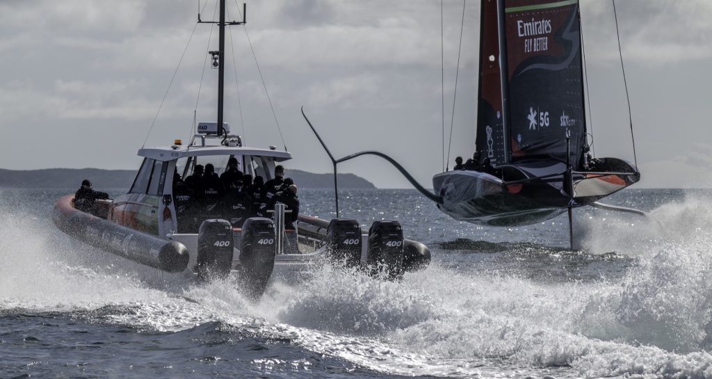 Mercury named Outboard Supplier for America's Cup defence