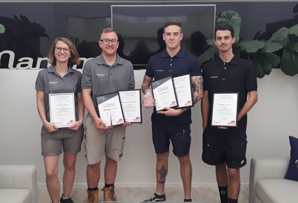 Maritimo Apprentices take out two top gongs