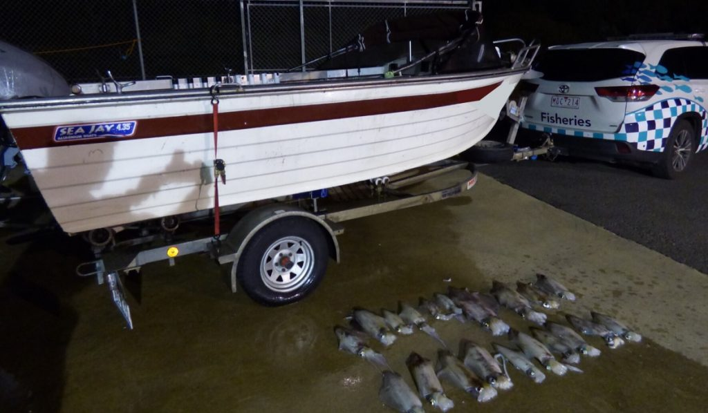 Two boats seized for illegal calamari catches