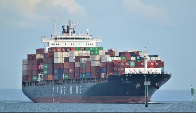 Yang Ming ship arrested for pollution debt
