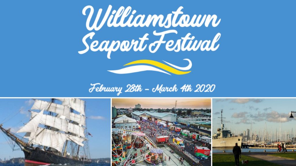 Waterfront comes alive with Seaport Festival