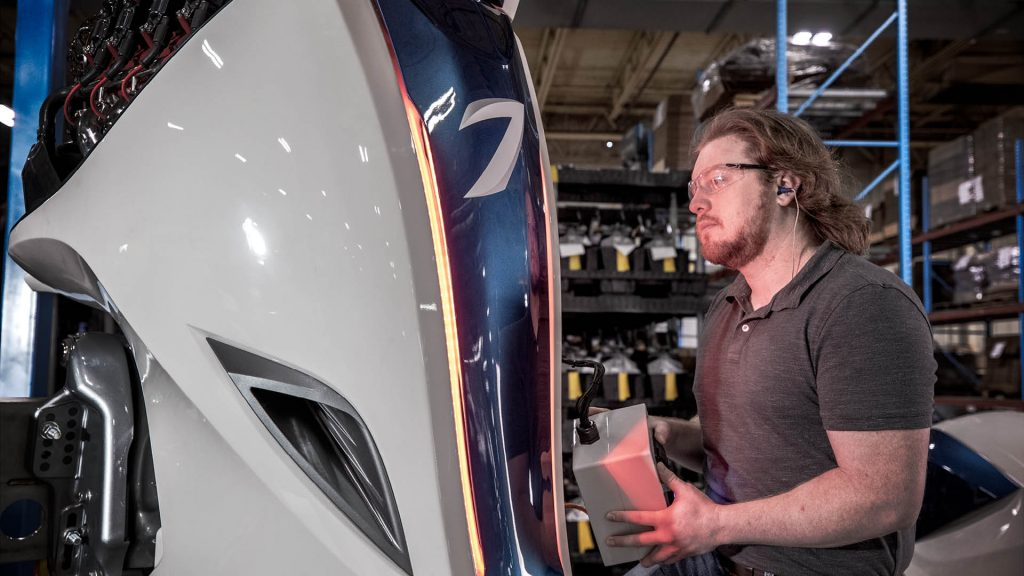 Volvo begins production of Seven Marine outboards