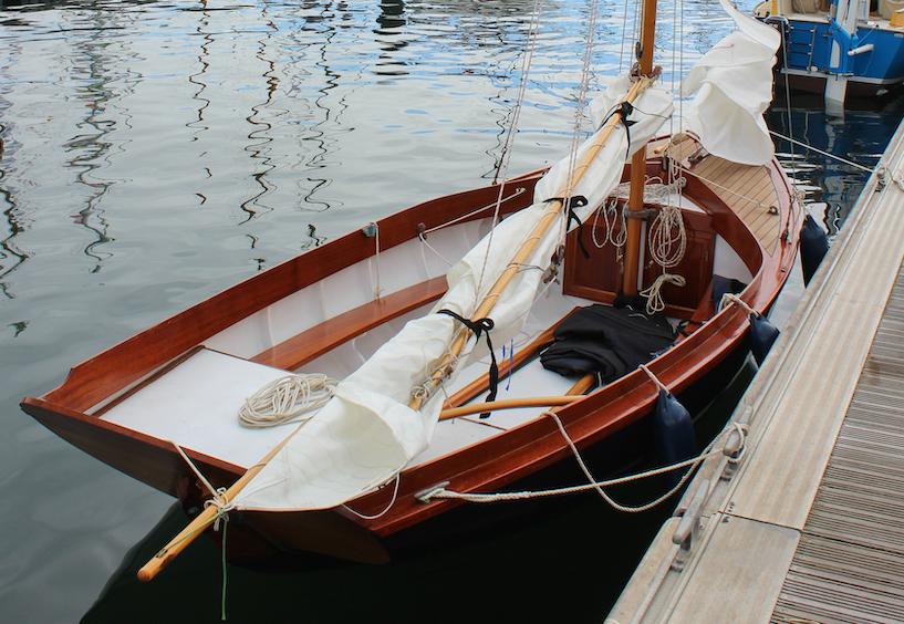 'Larrikin of Lyme' back at Wooden Boat Festival of Geelong
