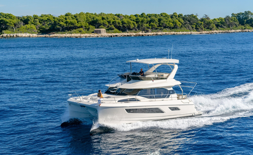 Australian Debut for Outremer 4X and Aquila 36