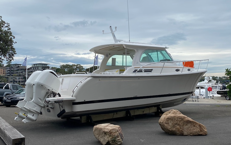 E Marine announce arrival of new Back Cove 34O