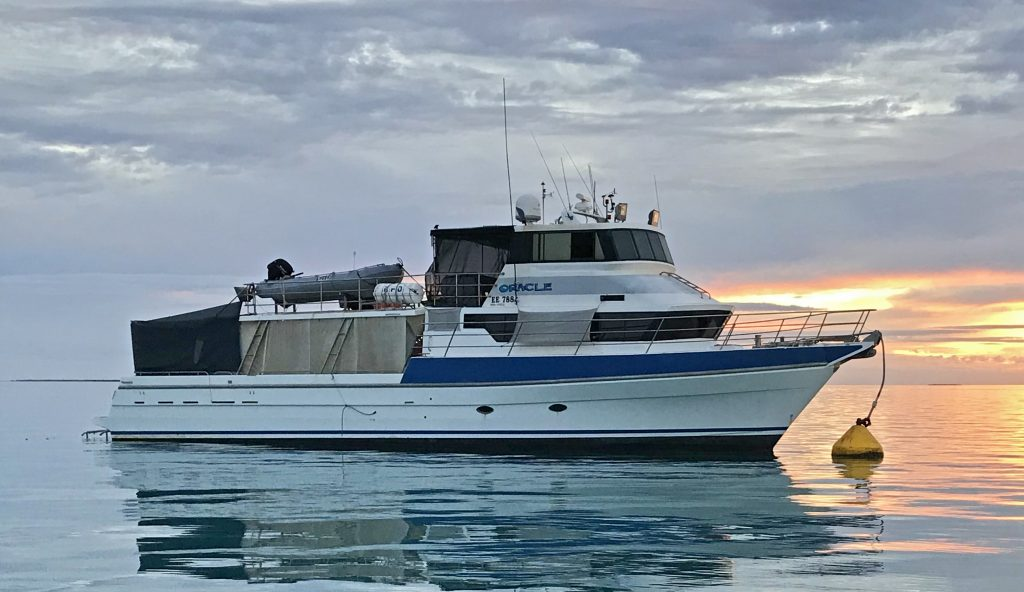 Vessel repowered for the serious job of retirement