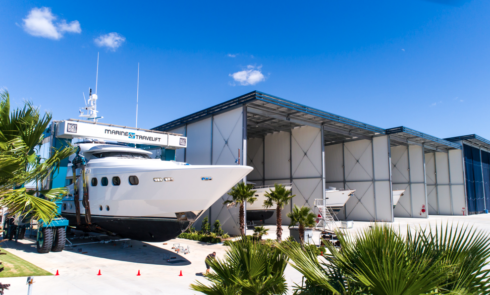 Superyacht yard in full swing and expanding