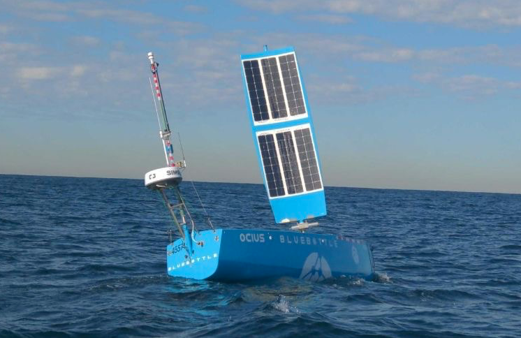 Unmanned USV's operating autonomously off Australia coast