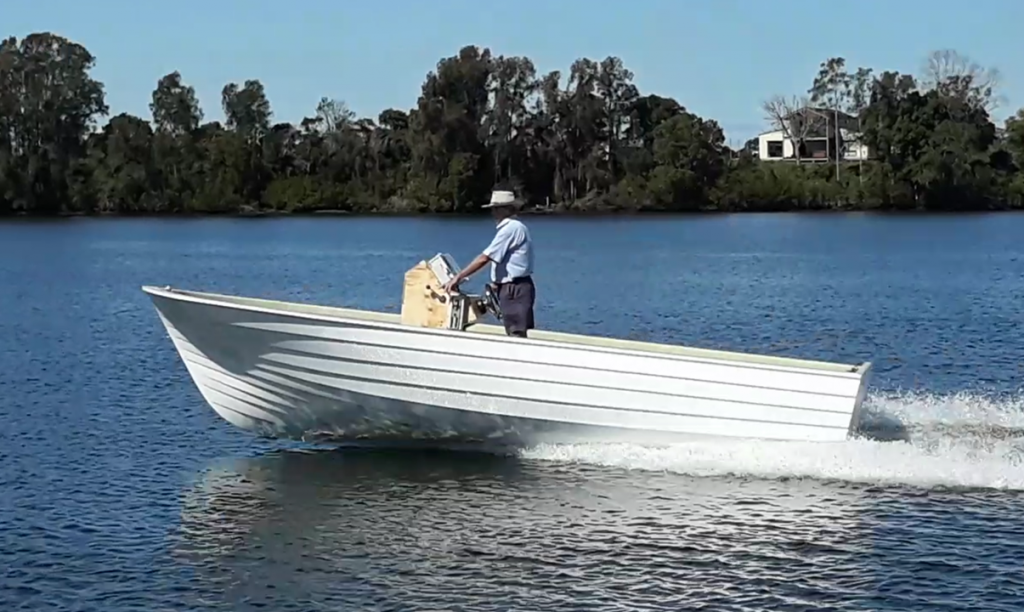 Early successes for electric hybrid boat