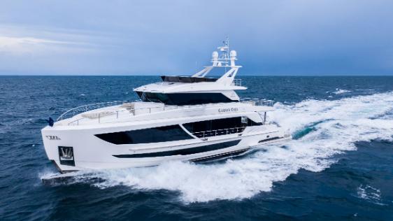Horizon Yachts Launches FD92
