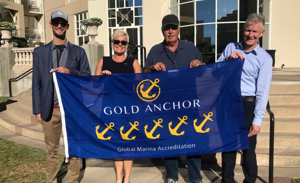 Marina Gold Anchor training commences in USA