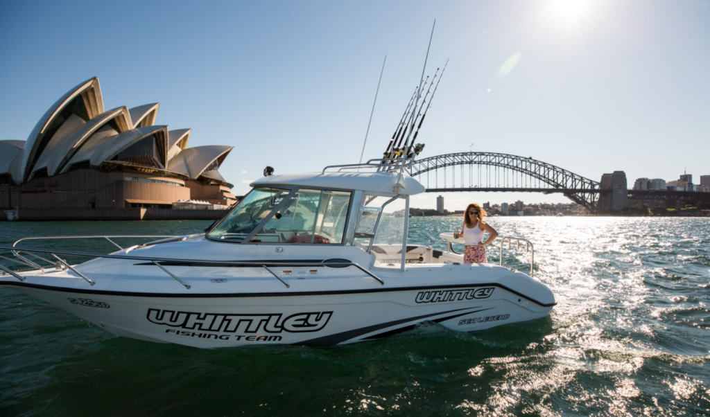 Whittley NSW Grand Opening Boat Show Weekend