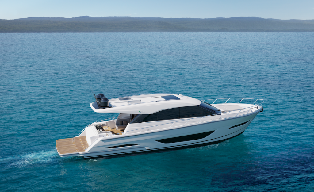 Maritimo S55 unveiled and Coming in 2021