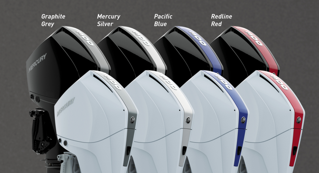 Personalise your Mercury outboard with colour!