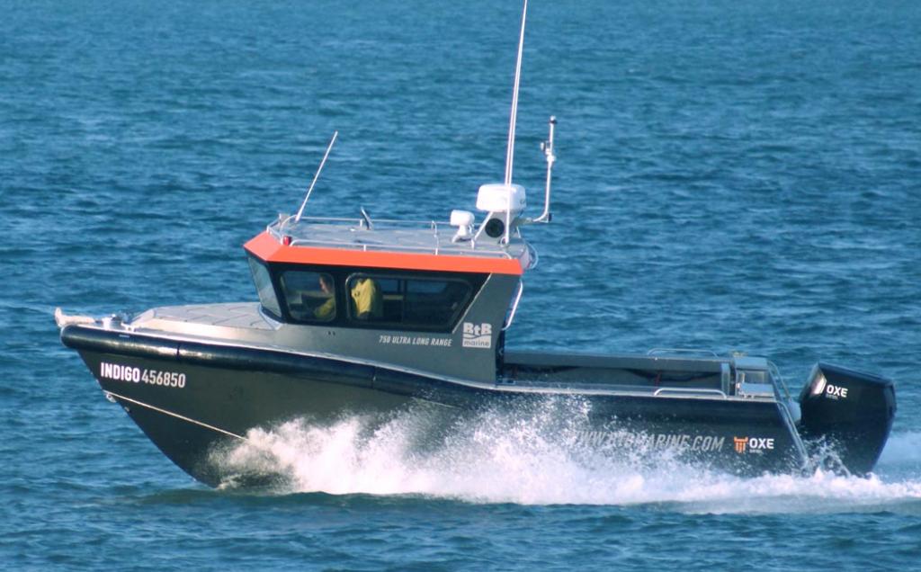 Defence Prime chooses Hervey Bay workboat for survey program