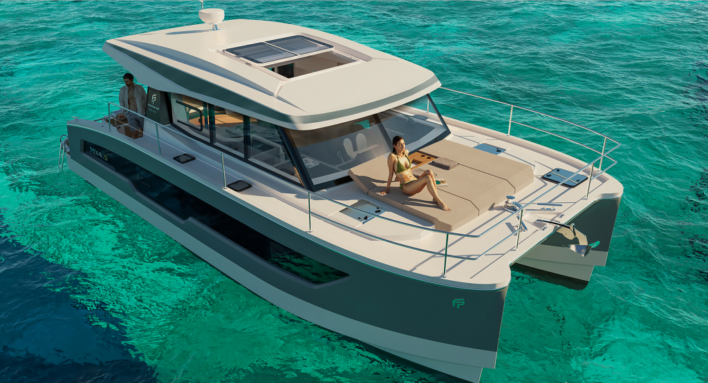 Fountaine Pajot unveils new 40ft Power Cat