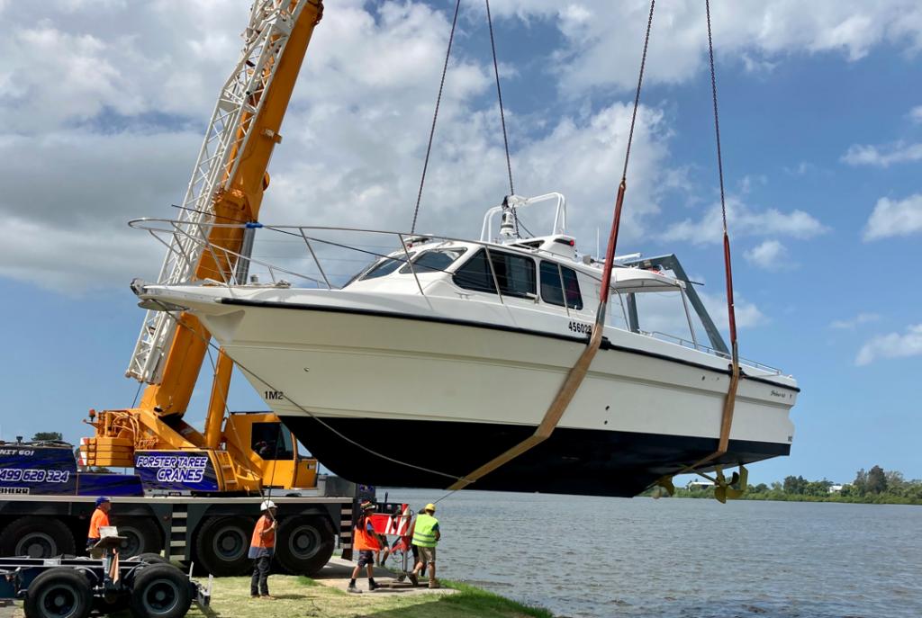 Steber's 21st vessel for Australian Govt